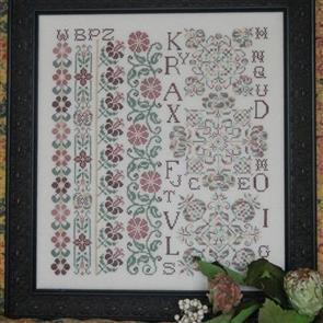 Rosewood Manor  Cross Stitch Designs - Just Peachy