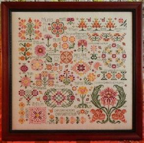 Rosewood Manor  Cross Stitch Designs - Dreaming of Mums