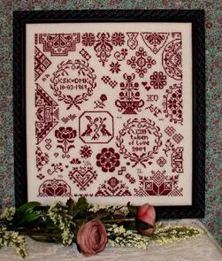 Rosewood Manor  Cross Stitch Chart - My Token of Love