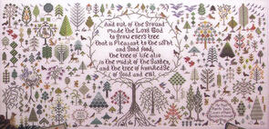 Rosewood Manor  Cross Stitch Chart - And a Forest Grew