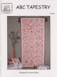 Rosewood Manor  Cross Stitch Chart - ABC Tapestry