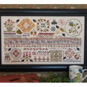 Rosewood Manor  Cross Stitch Designs - Ravenswood Sampler