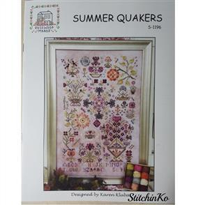 Rosewood Manor Cross Stitch Designs - Summer Quakers