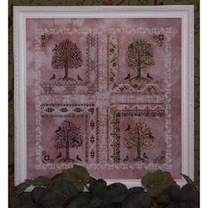 Rosewood Manor Cross Stitch Designs - Crabapple Tree