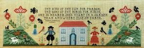 Rosewood Manor  Cross Stitch Chart - Wittlesford Cottage