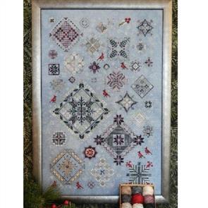 Rosewood Manor Cross Stitch Designs - Winter Quakers