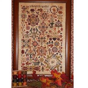 Rosewood Manor Cross Stitch Designs - Autumn Quakers
