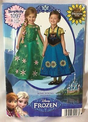 Simplicity Disney Frozen Sewing Pattern
