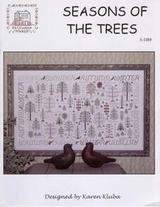 Rosewood Manor  Cross Stitch Chart - Seasons of the Trees