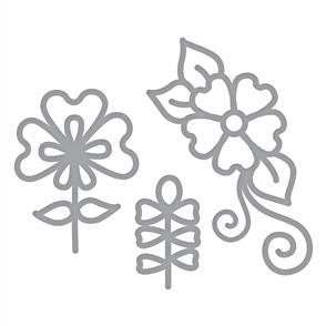Spellbinders  Shapeabilities Die D-Lites - Dainty Florals