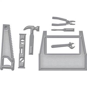 Spellbinders  Shapeabilities Die D-Lites - Toolbox