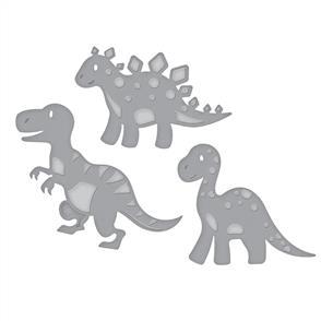 Spellbinders  Shapeabilities Die D-Lites - Dinosaurs
