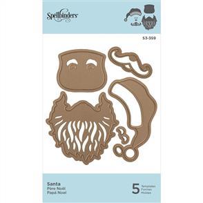 Spellbinders  Shapeabilities Die D-Lites - Santa