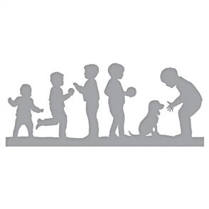 Spellbinders  Dies - Little Boys at Play
