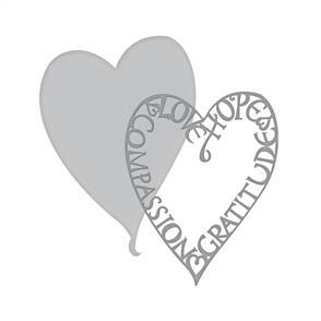 Spellbinders  Shapeabilities Dies - Love Frame