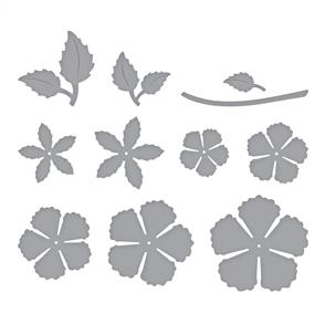 Spellbinders  Dies - Blooming Rose
