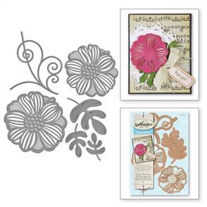 Spellbinders  Shapeabilities Dies - Romantic Blooms One