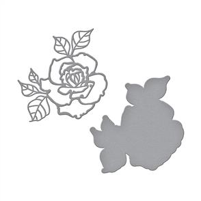 Spellbinders  Shapeabilities Dies - Rosy Summer Flowers