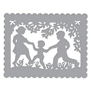 Spellbinders  Dies - Little Loves A2 Card Front