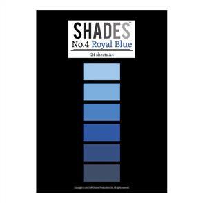 Shades Paper Pad - A4 Royal Blue - 24 Sheets