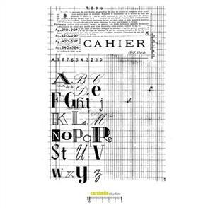 Carabelle Studio Rubber Stamp - Notebook XXL
