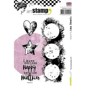 Carabelle Studio Rubber Stamp - The Geometriks #4