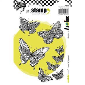 Carabelle Studio Rubber Stamp - Envol de Papillons