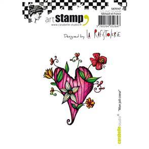 Carabelle Studio Rubber Stamp - My Pretty Heart