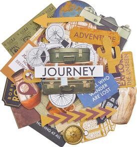 Kaisercraft Collectables Cardstock Die-Cuts - Journey