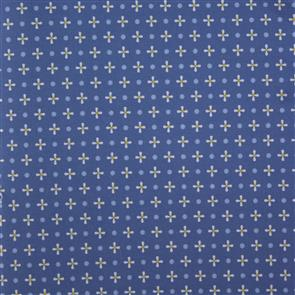 Sevenberry  Daisies and Dots - Blue