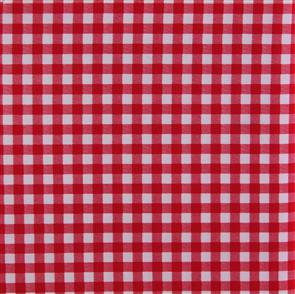 Sevenberry  Gingham Style Checks - Red