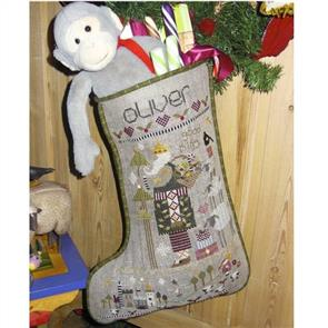 Shepherds Bush Stocking - Oliver Christmas Stocking
