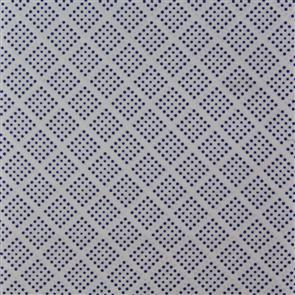 Sevenberry  Square Dots - Blue on White