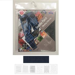 Olympus  Sashiko Pre-printed Sakizome Cut cloth Col 6