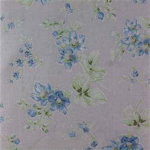 MISC  Shabby Chic - Treasures - Floral Toss Blue