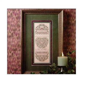 The Sweetheart Tree Classical Roses Sampler chart