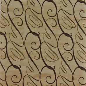 Studio E Fabrics  - Chocolate Love - Swirls Beige