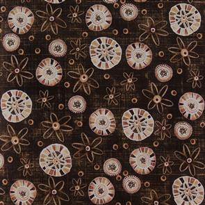 Studio E Fabrics  Studio E - Chocolate Love - Floral Brown