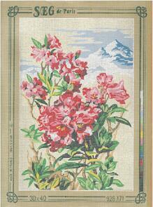 SEG De Paris  Tapestry Canvas 30X40 #171