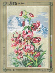 SEG De Paris  Tapestry Canvas 30X40 #172