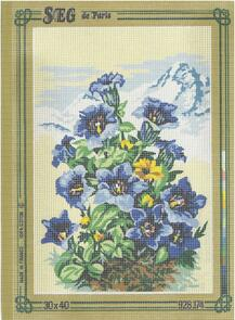 SEG De Paris  Tapestry Canvas 30X40 #174