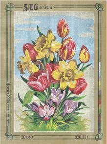 SEG De Paris  Tapestry Canvas 30X40 #221
