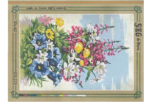 SEG De Paris  Tapestry Canvas 30X40 #223