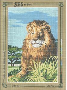 SEG De Paris  Tapestry Canvas 30X40  The Lion King