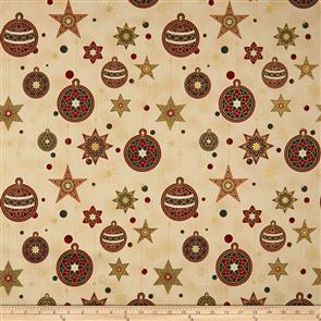 Stof Fabric  - Amazing Stars - 1801 Cream