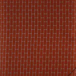 Stof Fabric  - Loft Life - Brick 4503