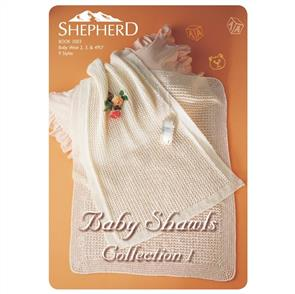 Shepherd Book 1003 - Baby Shawls Collection