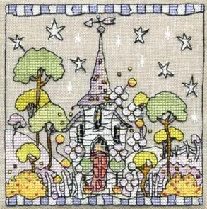 Michael Powell White Church Cross-Stitch Chart