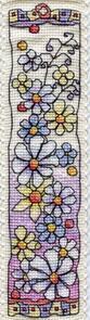 Michael Powell Flower Meadow Bookmark Cross-Stitch Kit