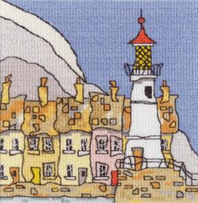 Michael Powell Mini Lighthouse III Cross-Stitch Chart